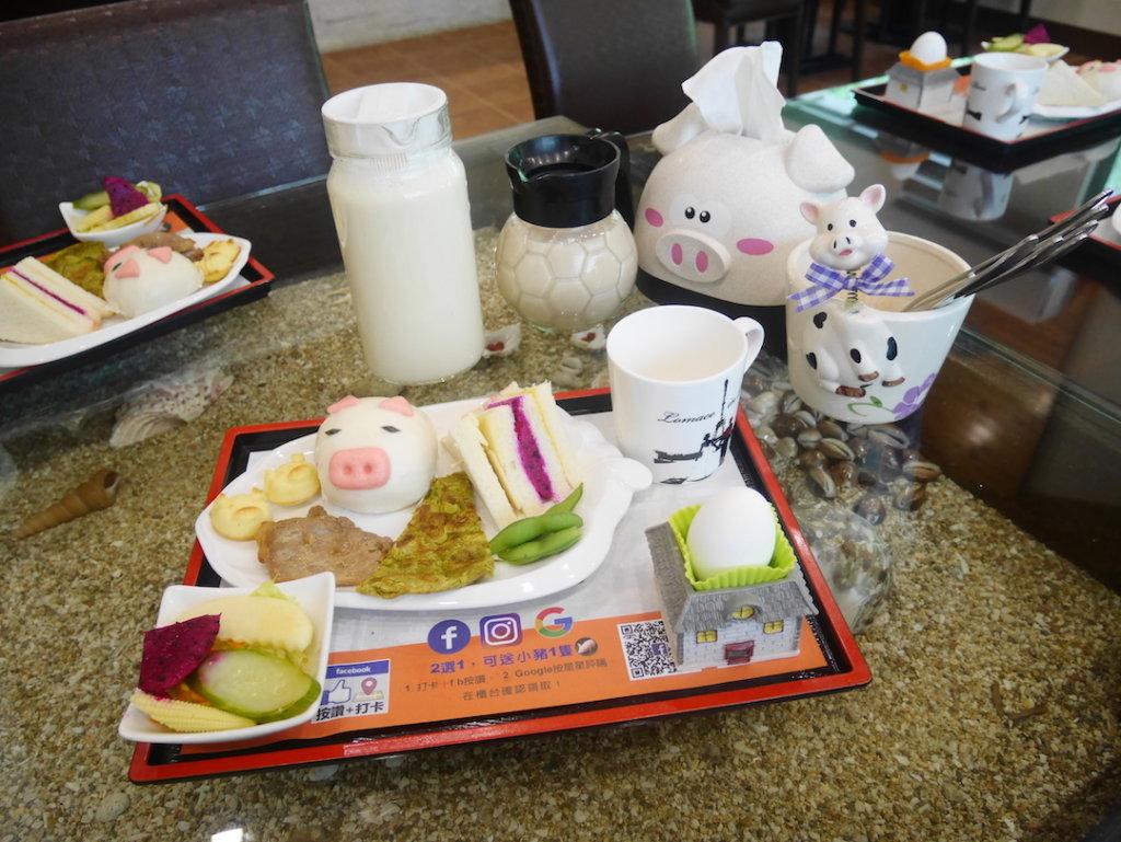 高雄內門竹亮山莊早餐